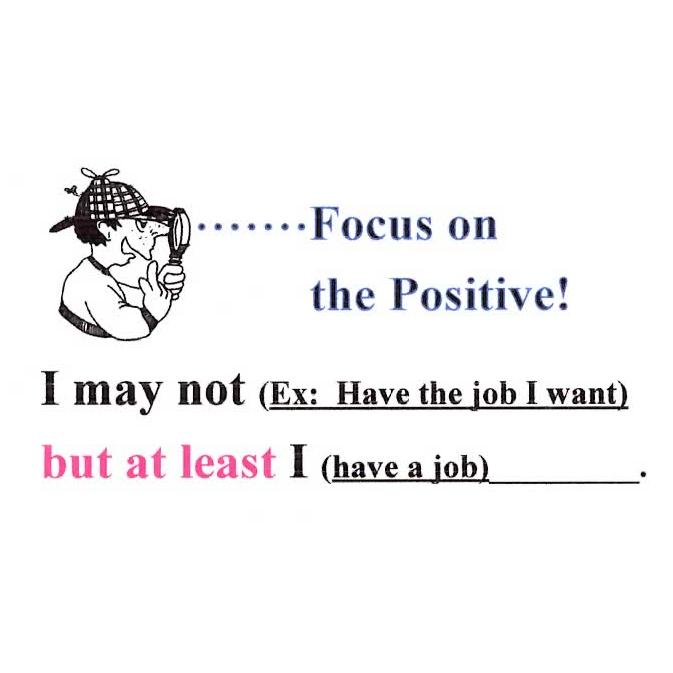 Focus On The Positive The Joy Of Encouragement
